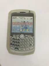 BlackBerry Curve 8300 8310 8320 8330 Gel Case Skin Front Back Cover Fascia Clear