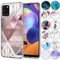 Handy Case für Samsung Galaxy A31 Hülle Silikon Muster Schutz Cover Handyhülle