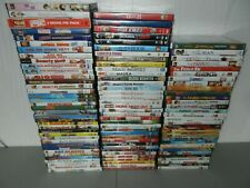 Your Choice of over 100 Dvd's Comedy & Family Movies Used Choose