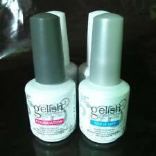 GELISH Harmony Top and Base Coat Gel Polish Foundation Base And Top It Off SALE