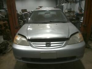 Driver Rear Door Glass Sedan Without Hybrid Fits 01-05 CIVIC 95688