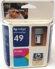 Genuine HP Inkjet Tri-Color Print Cartridge 49 Part # 51649a Expired  New in Box