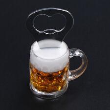 Beer Bottle Opener for Kitchen Bar Party Supplies Beer Cup Shape Fridge Magnet L