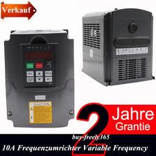 Neu 3HP 2.2KW VFD Frequenzumrichter Variable Frequency Drive Inverter HY 220V