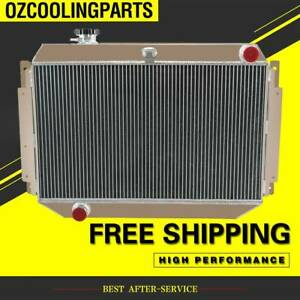 3Row Radiator FOR Holden KINGSWOOD HG HT HK HQ HJ HX V8 253/308 MT Aluminum