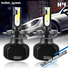 H4 9003 HB2 LED Bulbs HID White Hi/Lo Beam Motorcycle Headlight 6000K High Power