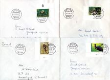 Luxembourg 1992 National Welfare Fund, Birds FDC Set #C45061