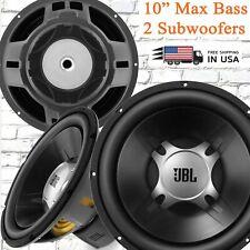 "2x JBL GT5-10D 10"" Dual Voil Coil 4-Ohms CAR AUDIO 275 Watts Sub Woofers 1 Pair"