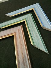 Cadres Encadrements / Format standard et sur mesure / Patine et filet Or / Art