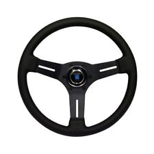 CORRADO Steering Wheel, Nardi Competition, Black Leather, 330mm - WC400006