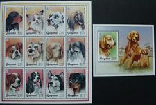 Guyana 1995 Hunde Dogs Dalmatiner Windhund Rottweiler 5135-46 Block 459 MNH