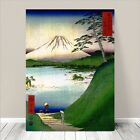 "Beautiful Japanese Art ~ CANVAS PRINT 8x12"" ~ Hiroshige Mount Fuji #4"