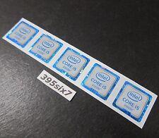 5PCS - Intel CORE i5 inside Sticker 18mm x 18mm - 6th Generation