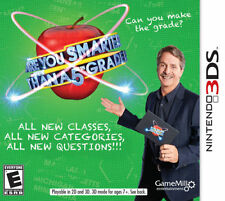 Are You Smarter Than a 5th Grader RE-SEALED Nintendo 3DS 3 DS 2 2DS GAME