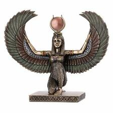 """New listing Winged Isis-Bronze Finish 8"""" H x 9"""""""