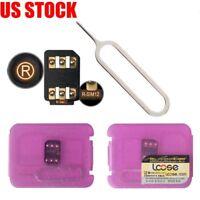 1 PC R-SIM12 LTE 4G Nano Unlock Card for iPhone X/8/7/6/5 IOS11.x RSIM R-SIM 12