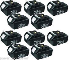 10 Makita BL1830 18V volt 3.0Ah 3.0Amh Battery Batteries for LXT Cordless NEW!