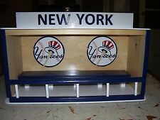 New York Yankees Dugout bobblehead display case   see pictures
