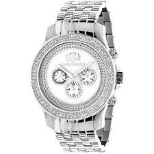 Luxurman Men's Designer 1/4ct Diamond Watch