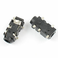 10Pcs 3.5mm Female Audio Connector SMT SMD 5 Pin Stereo Phone Jack PJ327E