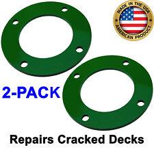 "2-PACK John Deere 42"" Mower Deck Spindle Reinforcement Ring D/L/LA 100 Series"