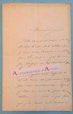 L.A.S 1887 J. J. VEYRASSAT Peintre École de Barbizon - Tableau Londres Lettre