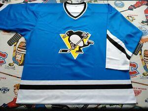Pro 52 XL 1974-75 Replica Pittsburgh Penguins Ice Blue Ultrafil Jersey