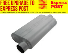 "Flowmaster 50 Series Delta Flow Muffler 3"" Offset Inlet / Center Outlet"