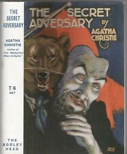AGATHA CHRISTIE - THE SECRET ADVERSARY (HCDJ; 2007) CLASSIC DETECTIVE MYSTERY