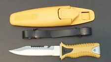 New Commando Scuba Dive Knife with Sheath WIL-DK-CYY