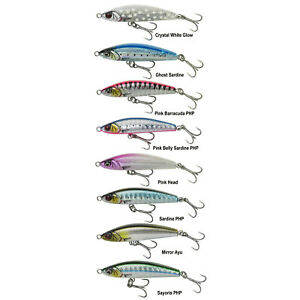 savage gear new gravity pencil 4.5cm 5gm and 6cm 12gm long casting lures