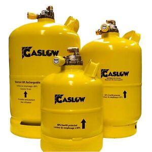 Gaslow 6 kg R67 Motorhome / Caravan refillable lpg Cylinder Campervans Gasit
