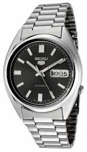 SEIKO 5 SNXS79 SNXS79K1 21 Jewels Automatic 30m Original Box BLACK !
