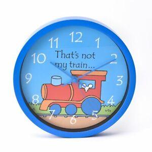 That's Not My Train Wall Clock Nursery Children's Bedroom Decor