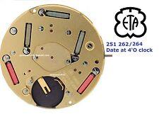 ETA Movement Swiss Caliber 251.262 / 264  FOR Tag Heuer / Movado / Omega.Date 4,
