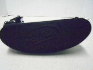 Maui Jim Sport Hard Sun Glass Case Zippered Black Logo