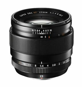 Fuji Fujifilm 23mm f1.4 XF R Fujinon Black Lens (UK Stock) BNIB