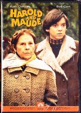 Harold and Maude (DVD, 2000) Widescreen,Ruth Gordon,Bud Cort New