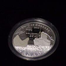 2012 $10 Fine silver coin - R.M.S Titanic