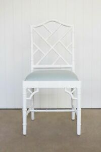 White Chippendale Dining Chair - Set of two - delivered to Sydney