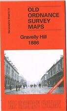 DETAILED ORDNANCE SURVEY MAP GRAVELLY HILL, BIRMINGHAM 1886 (COLOUR) FREE UK P&P