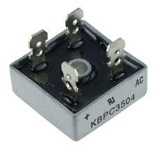 5 X KBPC3504 Silicone Bridge Rectifier Diode 35a 400v