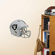 "New Oakland Raiders Helmet Vinyl Fathead Wall Graphics 11"" X 9"" poster sticker"