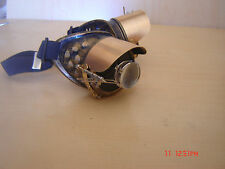 Solid Brass Visor With Accessory Mount For Steampunk Goggles