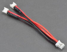 Parallel Lipo Battery Adapter (2) E-Flite mCX / mSR to 1 Blade mCP-X Ultra Micro