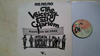 Gospel LP The Voices Of East Harlem No, No, No Right On Be Free Francese 70s NM