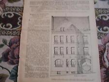 1905 Baugewerkszeitung 69 / Haus Knier in Solingen  Cronenberger Str. /