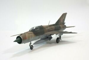 1/48 MiG-21 Fishbed - scale model professionally built to order