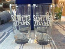 SET OF FOUR SAMUEL ADAMS 7 OUNCE TASTING BEER GLASSES - STEPS 1 - 2 - 3 - 4