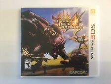 Replacement Case (NO GAME) Monster Hunter 4 Ultimate - Nintendo 3DS